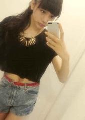 松井愛莉のかわいい私服写真集4