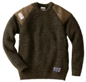 ハリスツイード人気セーター