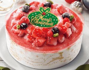 苺のアイスケーキ