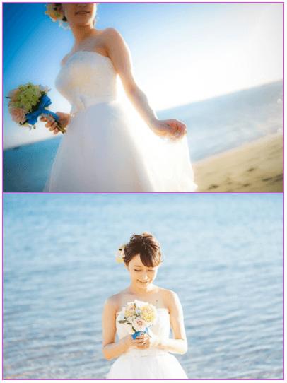 枡田絵理奈と堂林の結婚式ハワイ画像2