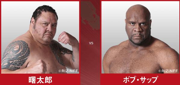 第8試合:曙太郎 VS ボブ・サップ