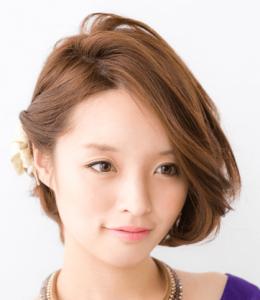 浴衣に合う髪型を簡単アレンジ画像集 ショート 1