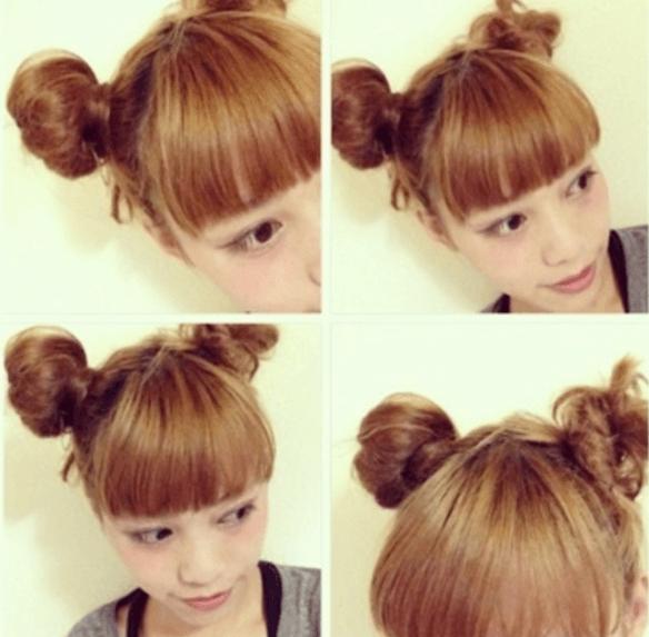 浴衣に合う髪型を簡単アレンジ画像集 ショート 3