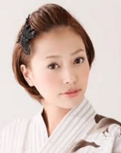 浴衣に合う髪型を簡単アレンジ画像集 ショート 8