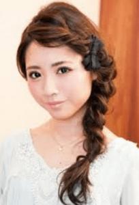 浴衣に合う髪型を簡単アレンジ画像集 編み込みと三つ編み 7