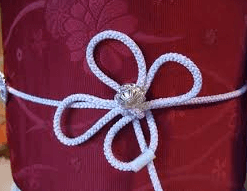 浴衣帯締めの結び方 白詰草