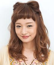 浴衣に合う髪型を簡単アレンジ画像集 ミディアム 8