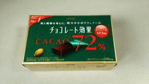 認知症予防に良い食事 高カカオポリフェノールチョコ