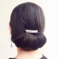 お葬式の髪型(女性)画像 ミディアム 2