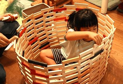 カプラ積み木の作り方 遊び方 3