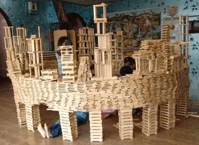 カプラ積み木の作り方 遊び方 6