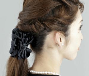 お葬式の髪型(女性)画像 ロング 2