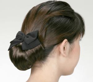 お葬式の髪型(女性)画像 ロング