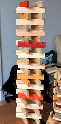 カプラ積み木の作り方・遊び方