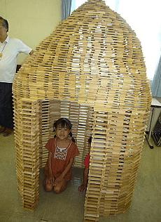 カプラ積み木の作り方 遊び方 4