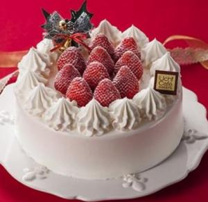 ローソンクリスマスケーキ苺ショート