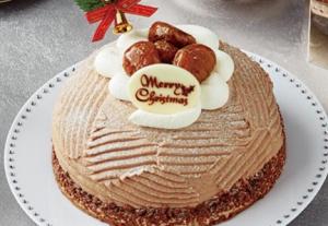 イタリア栗のモンブランセブンイレブンクリスマスケーキ