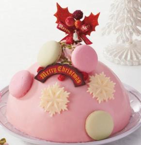 ウィンターキスクリスマスケーキ