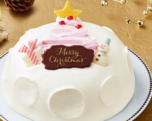 クリスマスかまくらセブンイレブンクリスマスケーキ