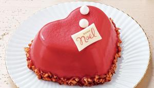 セブンイレブンクリスマスケーキハートのベリーベリークリスマス