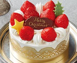 セブンイレブン苺のプリンセスショートケーキ