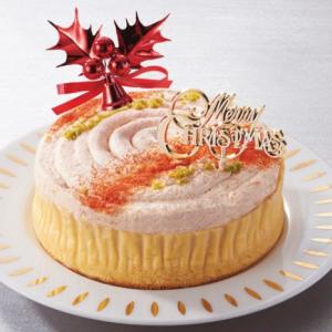 トマトとチェリークリスマスケーキイオン