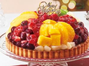 フルーツマウンテンタルトクリスマスケーキ