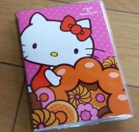 ミスド福袋1080円キティちゃん手帳