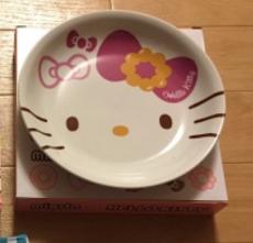 ミスド福袋2016キティちゃんの皿