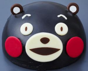 ローソンクリスマスケーキくまモンケーキ