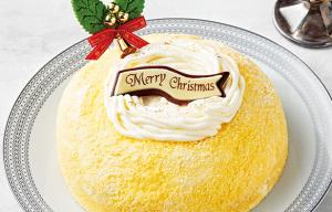 北海道産チーズの2層のケーキ