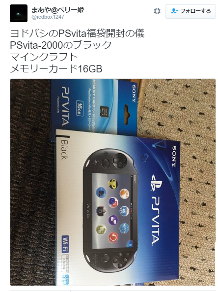 ヨドバシカメラ福袋PSVITA